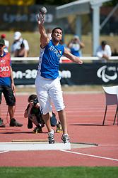 ALSALEH Abdullah S.A.S.A, KUW, Shot Put, F46, 2013 IPC Athletics World Championships, Lyon, France