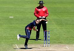 Laura Marsh of England Women bowls - Mandatory by-line: Robbie Stephenson/JMP - 02/07/2017 - CRICKET - County Ground - Taunton, United Kingdom - England Women v Sri Lanka Women - ICC Women's World Cup Group Stage