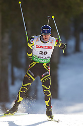 Vincent Jay of France during the Men 20 km Individual of the e.on IBU Biathlon World Cup on Thursday, December 16, 2010 in Pokljuka, Slovenia. The fourth e.on IBU World Cup stage is taking place in Rudno Polje - Pokljuka, Slovenia until Sunday December 19, 2010.  (Photo By Vid Ponikvar / Sportida.com)
