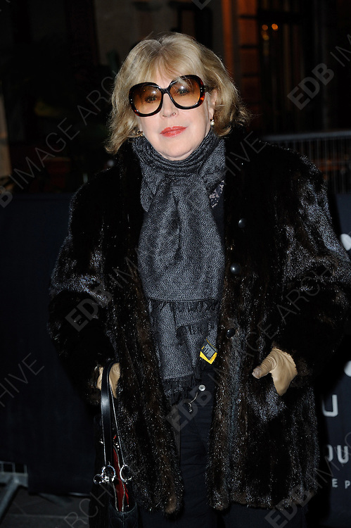 03.MARCH.2013. PARIS<br /> <br /> MARIANNE FAITHFULL ATTENDING THE DIESEL PARTY HELD IN THE GAITE LYRIQUE AS PART OF THE FALL-WINTER 2013/2014 READY-TO-WEAR FASHION WEEK IN PARIS.<br /> <br /> BYLINE: EDBIMAGEARCHIVE.CO.UK<br /> <br /> *THIS IMAGE IS STRICTLY FOR UK NEWSPAPERS AND MAGAZINES ONLY*<br /> *FOR WORLD WIDE SALES AND WEB USE PLEASE CONTACT EDBIMAGEARCHIVE - 0208 954 5968*