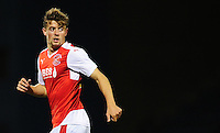 Fleetwood Town's Jack Sowerby in action during todays match  <br /> <br /> Photographer Kevin Barnes/CameraSport<br /> <br /> Football - The Football League Sky Bet League One - Gillingham v Fleetwood Town - Tuesday 29th September 2015 - MEMS Priestfield Stadium - Gillingham<br /> <br /> © CameraSport - 43 Linden Ave. Countesthorpe. Leicester. England. LE8 5PG - Tel: +44 (0) 116 277 4147 - admin@camerasport.com - www.camerasport.com