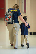 First day of school at Marshall Elementary School, August 26, 2013.