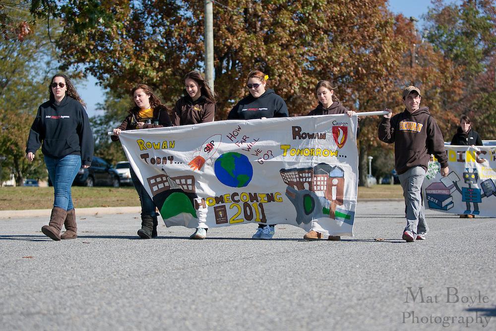 Rowan University Homecoming Parade on Saturday October 2, 2011. (Photo / Mat Boyle)