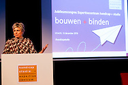 12-12-2016 - UTRECHT Princess Laurentien of the Netherlands holds on Monday December 12th a speech at the anniversary conference of Expertise handicap + study Course and Conference center city of Utrecht. The expertise exists 70 years and stands at the congress reflect on important milestones that have been achieved in recent decades. COPYRIGHT ROBIN UTRECHT<br /> <br /> 12-12-2016 - UTRECHT Prinses Laurentien houdt op maandagochtend 12 december een toespraak op het jubileumcongres van Expertisecentrum handicap + studie in Cursus- en Vergadercentrum Domstad Utrecht. Het expertisecentrum bestaat 70 jaar en staat tijdens het congres stil bij belangrijke mijlpalen die de afgelopen decennia zijn bereikt. COPYRIGHT ROBIN UTRECHT