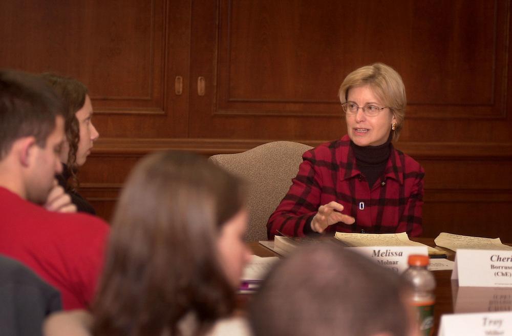 Charlotte Eufinger Speaks with RLI Students.10/23/03
