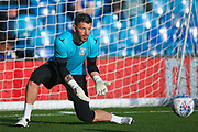 Sheffield Wednesday goalkeeper Keiren Westwood (1) warming up  during the EFL Sky Bet Championship match between Sheffield Wednesday and Sunderland at Hillsborough, Sheffield, England on 16 August 2017. Photo by Simon Davies.