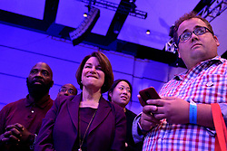 Democratic Presidential hopeful U.S. Sen Amy Klobuchar attends the Philadelphia Council AFL-CIO Workers' Presidential Summit, at the Pennsylvania Convention Center in Philadelphia, PA, on September 17, 2019.