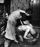 Coal Miner's Bath, Chester-le-street, Durham [1937]