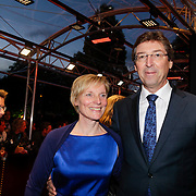 NLD/Utrecht/20120926- Nederlands Filmfestival 2012, NFF, Aleid Wolfsen en partner