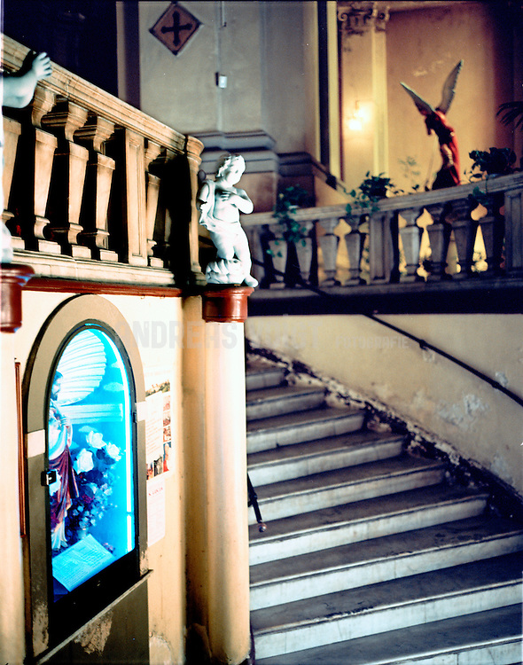 Chiesa di San Michele Arcangelo o dei Minoriti in Catania, Via Etnea