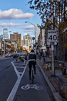 Cycling through Koreatown