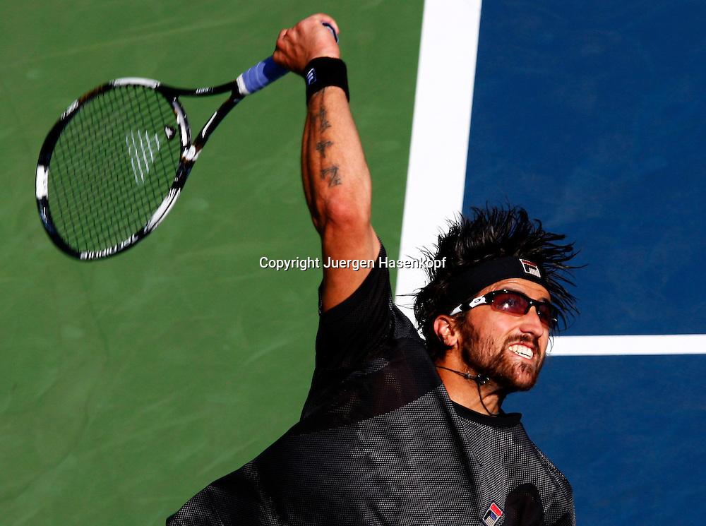 US Open 2010, USTA Billie Jean National Tennis.Center, NewYork,ITF Grand Slam Tennis Tournament . Janko Tipsarevic (SRB)