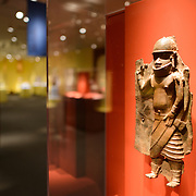 Smithsonian National Museum of African Art Sculpture. The Smithsonian National Museum of African Art was opened at its current location in 1987 as a mostly underground facility behind the Smithsonian Castle on Washington DC's National Mall. It is dedicated to ancient and contemporary African art.
