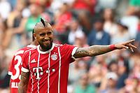 Arturo Vidal Bayern Monaco<br /> Monaco 02-08-2017  Stadio Allianz Arena<br /> Football Audi Cup 2017 <br /> Bayern Monaco - Napoli<br /> Foto Cesare Purini / Insidefoto