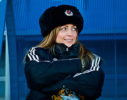 SAINT PETERSBURG, RUSSIA - Monday, October 23, 2017: Wales' head of team operations Amanda Smith during a training session at the Petrovsky Minor Sport Arena ahead of the FIFA Women's World Cup 2019 Qualifying Group 1 match between Russia and Wales. (Pic by David Rawcliffe/Propaganda)