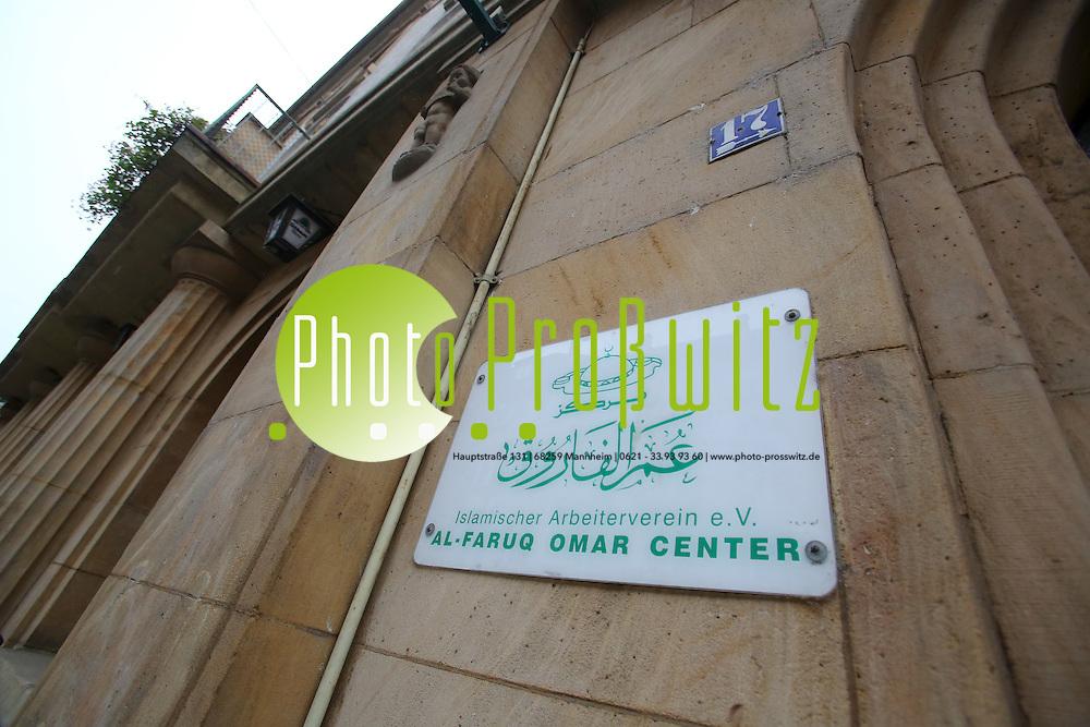 Mannheim. 15.11.16 Neckarstadt. Islamischer Arbeiterverein e.V. Al-Faruq Omar Center in der Neckarstadt. Moschee.<br /> Bild: Markus Prosswitz 15NOV16 / masterpress (Bild ist honorarpflichtig - No Model Release!)