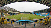 General stadium view during the Conference Premier League match between FC Halifax Town and Guiseley at the Shay, Halifax, United Kingdom on 5 December 2015. Photo by Mark P Doherty.