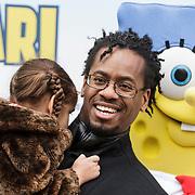 NLD/Amsterdam/20150125 - Premiere Spongebob in 3D - Sponge op het Droge, Rogier Komproe en dochter Alfie