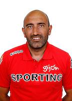 Spain - La Liga Adelante 2014-2015 / <br /> ( Real Sporting de Gijon ) - <br /> Abelardo Fernandez Antuna - DT Real Sporting de Gijon