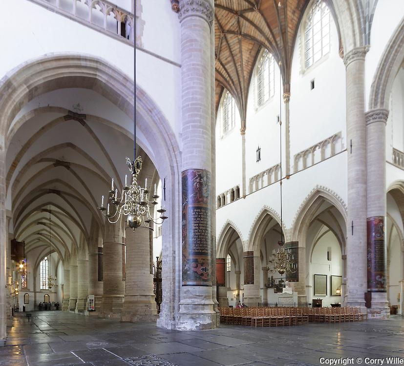 achterdeel van de kerk