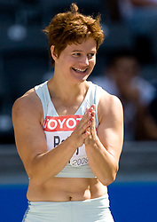Martina Ratej of Slovenia competes in the women's Javelin Throw Qualification during day two of the 12th 2009 IAAF Athletics World Championships on August 16, 2009 in Berlin, Germany. (Photo by Vid Ponikvar / Sportida)