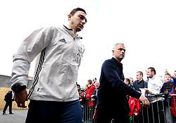Manchester United manager Jose Mourinho arrives ahead of the Premier League against Burnley - Mandatory by-line: Robbie Stephenson/JMP - 23/04/2017 - FOOTBALL - Turf Moor - Burnley, England - Burnley v Manchester United - Premier League