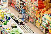 Ituiutaba_MG, Brasil...Comercio varejista de supermercado da cidade de Ituiutaba, Minas Gerais...The supermarket in Ituiutaba, Minas Gerais. ..Foto: BRUNO MAGALHAES / NITRO