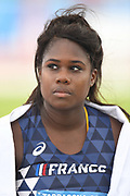 Camille Sainte Luce (FRA) competes and wins the Bronze medal on Women's Hammer final during the Jeux Mediterraneens 2018, in Tarragona, Spain, Day 6, on June 27, 2018 - Photo Stephane Kempinaire / KMSP / ProSportsImages / DPPI