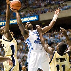 2005-01-12 GA Tech at North Carolina Tar Heels Basketball