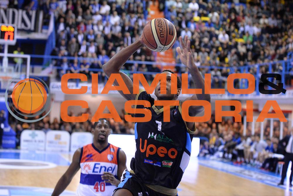 DESCRIZIONE : Brindisi  Lega A 2014-15 Enel Brindisi Upea Capo d'Orlando<br /> GIOCATORE : Archie Dominique<br /> CATEGORIA : Tiro<br /> SQUADRA : Upea Capo d'Orlando<br /> EVENTO : Campionato Lega A 2014-2015<br /> GARA :Enel Brindisi Upea Capo d'Orlando<br /> DATA : 21/12/2014<br /> SPORT : Pallacanestro<br /> AUTORE : Agenzia Ciamillo-Castoria/M.Longo<br /> Galleria : Lega Basket A 2014-2015<br /> Fotonotizia : <br /> Predefinita :
