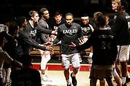 January 19, 2019: The St. Mary's University Rattlers play against the Oklahoma Christian University Eagles in the Eagles Nest on the campus of Oklahoma Christian University.