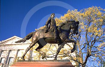 Pennsylvania Capitol Outdoor Sculpture, General John Fredderic Hartranft, Artist Frederick W. Ruckstull, Harrisburg, PA