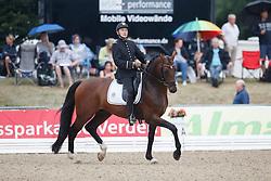 Flament Gildas, (FRA), Al Capone Ene-HN<br /> First Qualifier 6 years old horses<br /> World Championship Young Dressage Horses - Verden 2015<br /> © Hippo Foto - Dirk Caremans<br /> 07/08/15