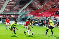 ALKMAAR - 12-09-2017, Jong AZ - Telstar, AFAS Stadion, 2-2, Jong AZ speler Levi Garcia, Telstar speler Toinme van Huizen