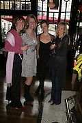 Katie Taylor,  Naomi Hancock, Alicia Barron and Allana McCabe , PJ's Annual Polo Party . Annual Pre-Polo party that celebrates the start of the 2007 Polo season.  PJ's Bar & Grill, 52 Fulham Road, London, SW3. 14 May 2007. <br /> -DO NOT ARCHIVE-© Copyright Photograph by Dafydd Jones. 248 Clapham Rd. London SW9 0PZ. Tel 0207 820 0771. www.dafjones.com.