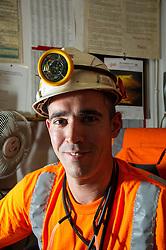 Miner Boulby Potash mine