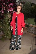 SOPHIE MOSS, spotted at Bloom & Wild's exclusive event at 5 Hertford Street last night. 5 September 2017. The event was announcing the new partnership between the UK's most loved florist, Bloom & Wild and British floral design icon Nikki Tibbles Wild at Heart. Cocooned in swaths of vibrant Autumn blooms, guests enjoyed floral-inspired cocktails from Sipsmith and bubbles from Chandon, with canapés put on by 5 Hertford Street. Three limited edition bouquets from the partnership can be bought through Bloom & Wild's website from the 1st September.  bloomandwild.com/WAH