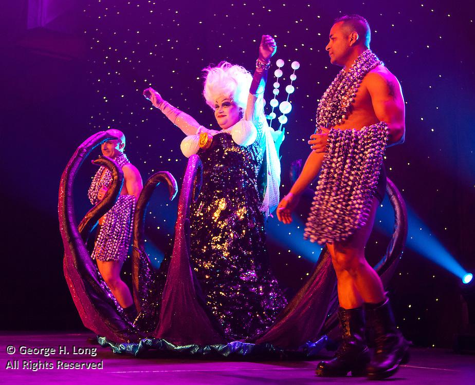 "Ursula of ""The Little Mermaid""; Satyricon Ninth Bal Masque: ""The Mickey Ball"""