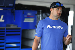 November 16, 2018 - Homestead, Florida, U.S. - Ricky Stenhouse, Jr (17) hangs out in the garage during practice for the Ford 400 at Homestead-Miami Speedway in Homestead, Florida. (Credit Image: © Chris Owens Asp Inc/ASP)