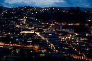 Diamantina_MG, Brasil...Vista panoramica da cidade de Diamantina ao anoitecer...The panoramic view of Diamantina at nightfall..Foto: LEO DRUMOND /  NITRO