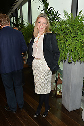 STEPHANIE PHAIR president of the OUTNET.COM at the mothers2mothers World AIDS Day VIP Lunch with Next Management & THE OUTNET.COM held at Mondrian London, 19 Upper Ground, London on 1st December 2014.