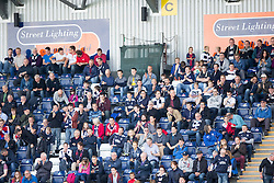 South stand. <br /> Falkirk 1v 1 Dumbarton, Scottish Championship game played 20/9/2014 at The Falkirk Stadium .