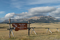 Sun River Wildlife Management Area near Augusta Montana