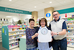 Susan and Stuart Ewins have lost a combined four-stone as part of the Lincolnshire Co-operative's 12-week weight loss plan, thanks to the help from Swineshead Pharmacy health champion Dee.<br /> <br /> Picture: Chris Vaughan Photography for Lincolnshire Co-op<br /> Date: December 18, 2018