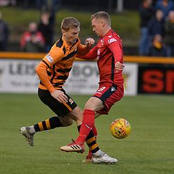 Alloa Athletic v Ross County, Scottish Championship, 1 December 2018