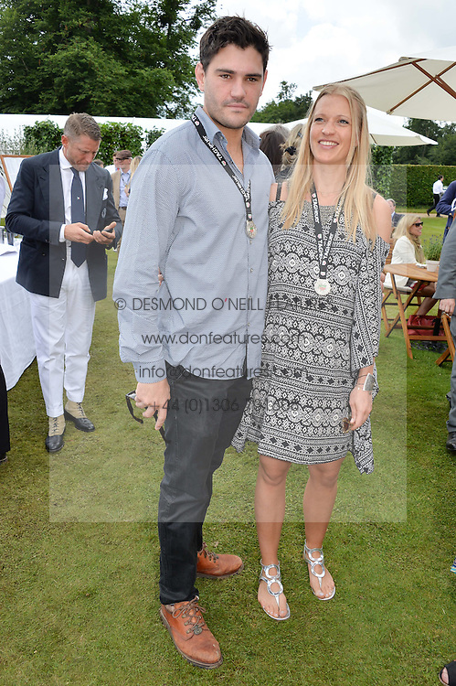 JULIEN DRAPER and LADY ALEXANDRA GORDON-LENNOX at the Cartier hosted Style et Lux at The Goodwood Festival of Speed at Goodwood House, West Sussex on 26th June 2016.