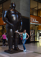 Botero's Adam the the Time-Warner Center