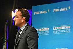 June 2, 2017 - Dublin, Ireland - Leo Varadkar won significant support from local Councillors and the parliamentary party.  He will be Ireland's first openly gay leader of the country. (Credit Image: © John Rooney/Pacific Press via ZUMA Wire)
