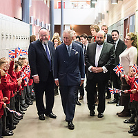 Prince Charles at Yavneh College 01.02.2017