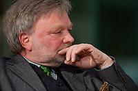 """17 MAR 2009, BERLIN/GERMANY:<br /> Michael Juergs, Autor und Publizist, Buchvorstellung """"Wunder muss man ausprobieren"""" , Forum Ost Deutschland, Willy-Brandt-Haus<br /> IMAGE: 20090317-02-019<br /> KEYWORDS: Michael Jürgs"""